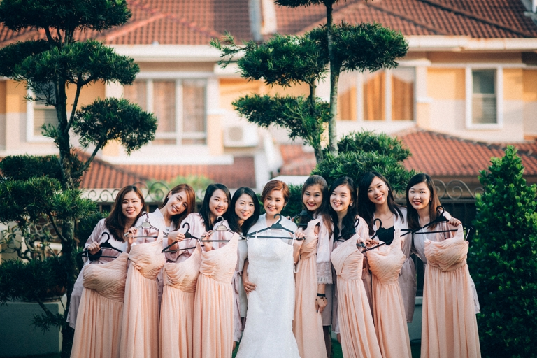 bridesmaid and dresses