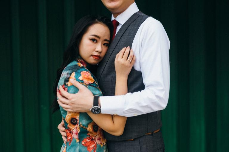 pre-wedding photoshoot in petaling street